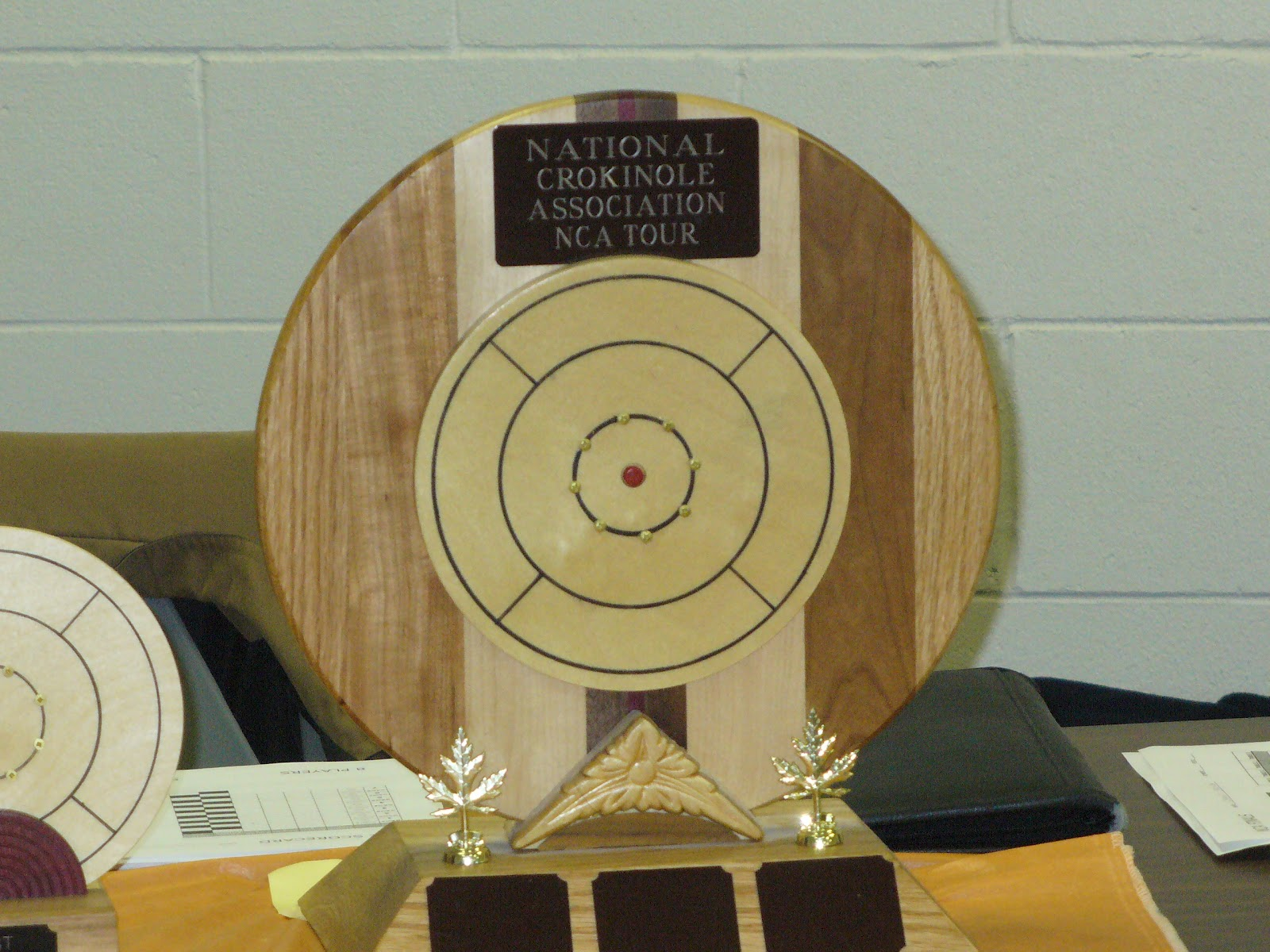 The Trophy awarded to the winner of the NCA Tour.