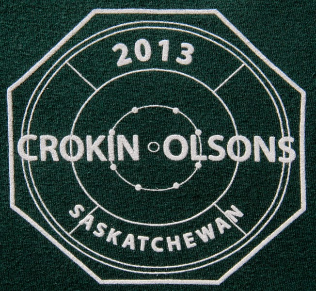 2013 logo of the Crokin Olsons of Saskatchewan
