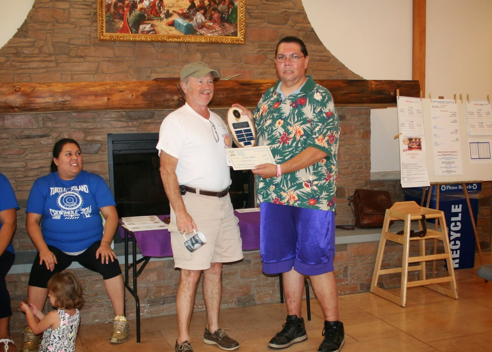2014 Pool A Recreation Champion - Jerry Ward