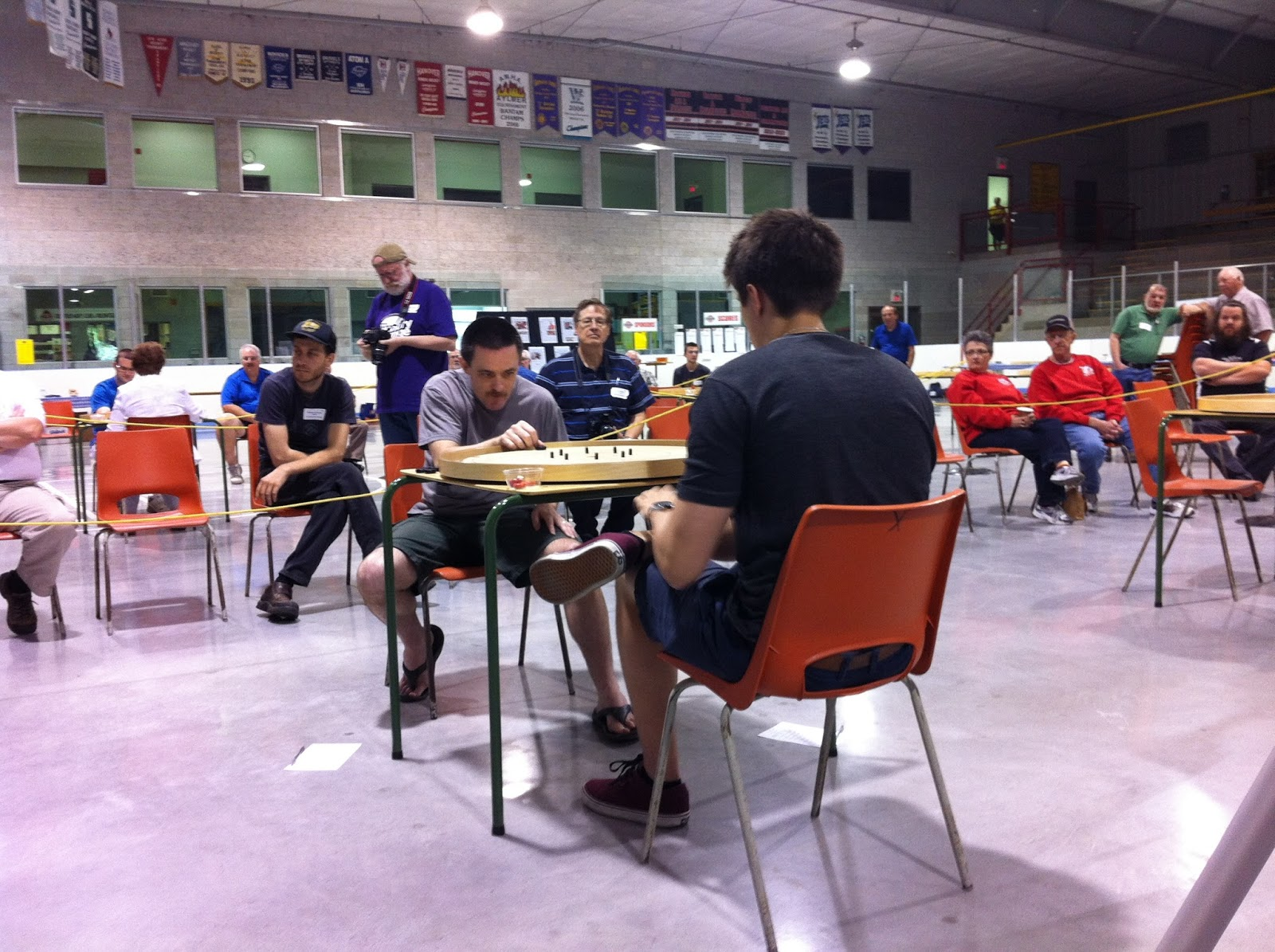 Top 4 Playoffs: Roy Campbell faces a relaxed Justin Slater
