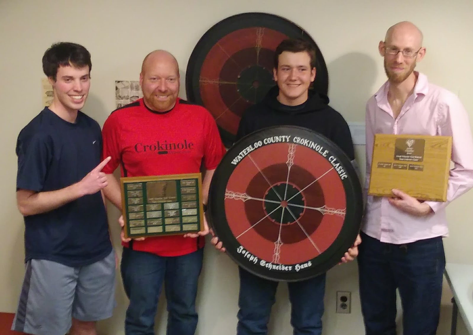 To play crokinole well with enthusiasm and sportsmanship Waterloo Crokinole Club - 2018 Champions