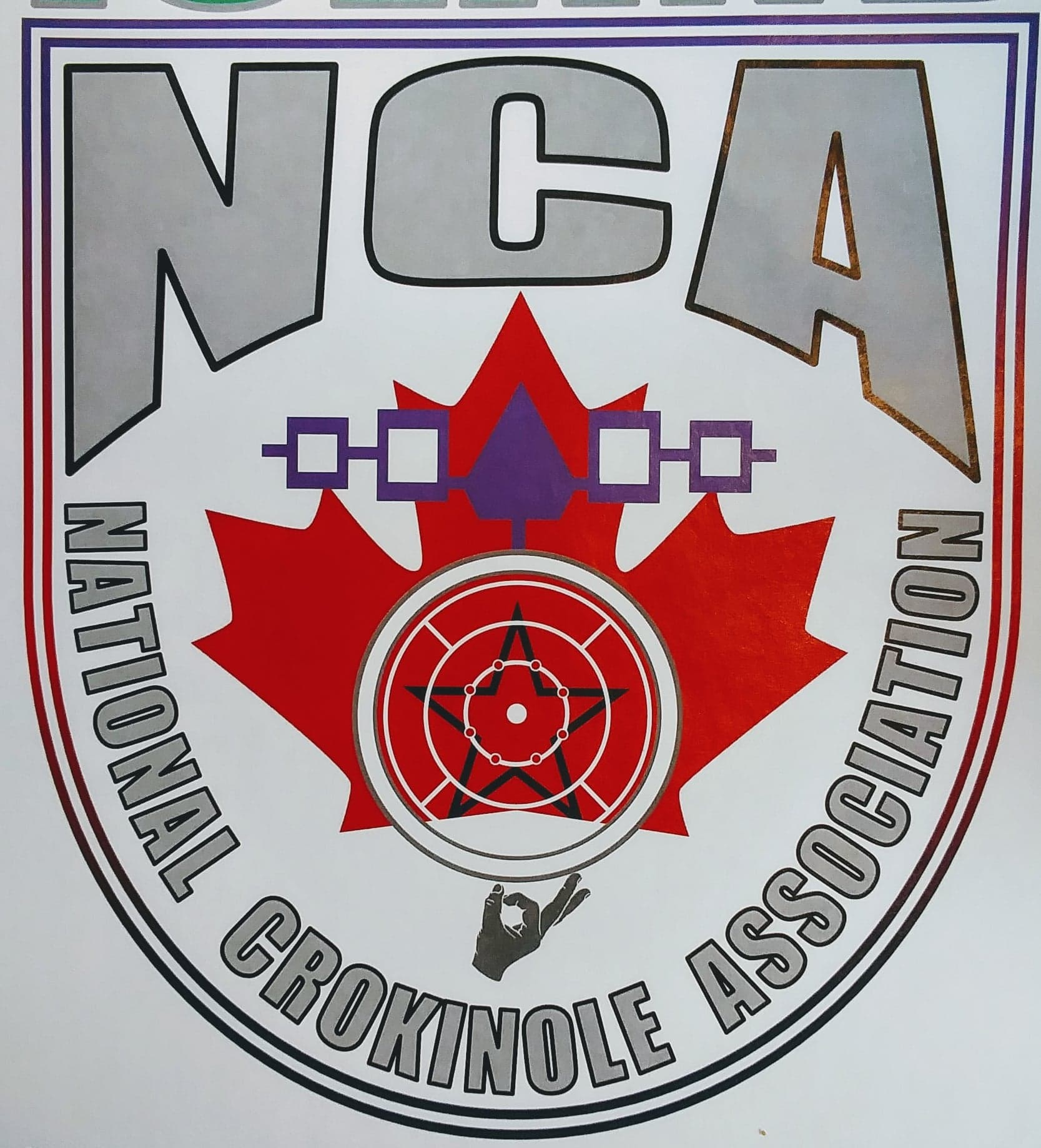 An NCA logo made by Dale Henry