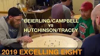 2019 Excelling Eight Crokinole - Doubles - Beierling/Campbell v Hutchinson/Tracey